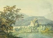 Sir William Hamiltons Villa, c.1795 (w/c over pencil on paper) wall mural thumbnail
