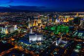 Las Vegas Lights wall mural thumbnail