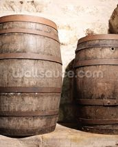 Wood Barrel mural wallpaper thumbnail
