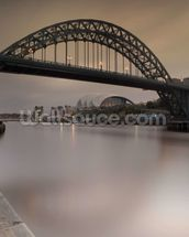 Tyne Bridge mural wallpaper thumbnail
