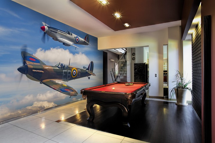 Spitfire-planes-wall-mural