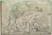 Pieta (pencil on paper) wallpaper mural thumbnail