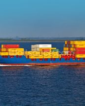 Shipping Containers Onboard wall mural thumbnail