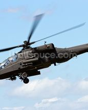 Apache Helicopter mural wallpaper thumbnail