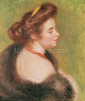 Portrait of Madame Maurice Denis, 1904 (oil on canvas) wallpaper mural thumbnail