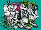 Graffiti Writing wall mural thumbnail