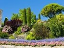 Gardens at Gordes, Provence wall mural thumbnail