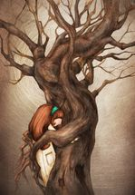 I Love You Old Tree wall mural thumbnail