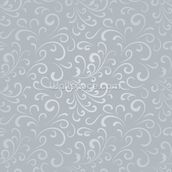 Floral Pattern - Grey mural wallpaper thumbnail