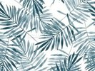 Palm Leaf Watercolour wall mural thumbnail