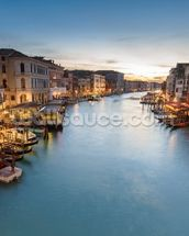 The Grand Canal from Rialto wall mural thumbnail