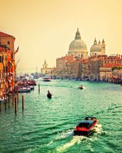 Venice Sunset mural wallpaper thumbnail