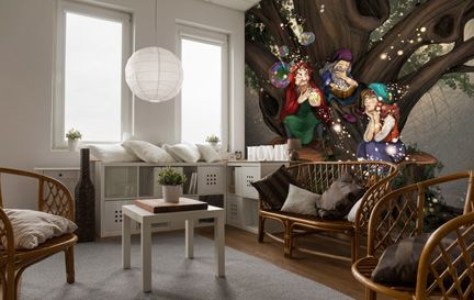 Turine Tran Wall Murals Wallpaper