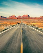 Monument Valley Highway wall mural thumbnail