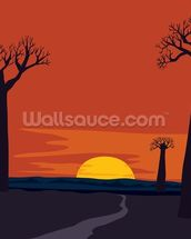 Boab Trees wallpaper mural thumbnail