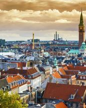 Copenhagen Skyline wallpaper mural thumbnail