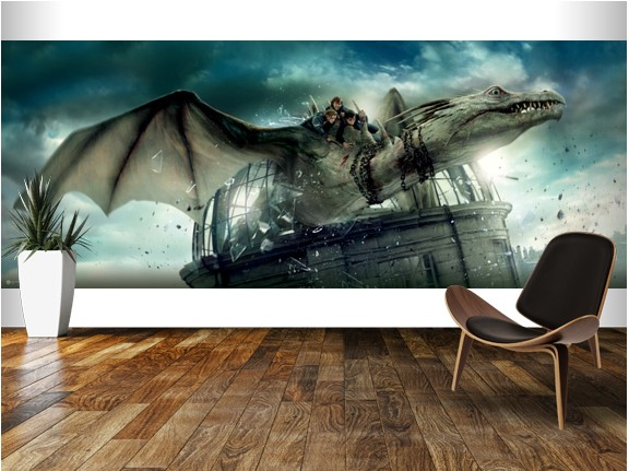 Harry Potter Wall Murals Digital Wallpaper exclusively at