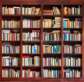 Bookcase mural wallpaper thumbnail