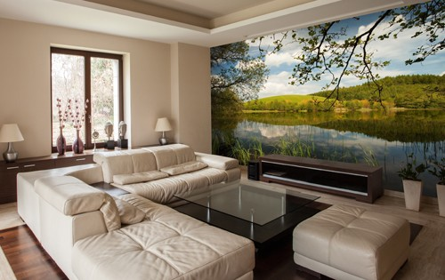 Top 10 wall murals for living rooms | Wallsauce