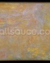 Waterlilies, after 1916 (oil on canvas) mural wallpaper thumbnail