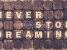 Never Stop Dreaming wall mural thumbnail