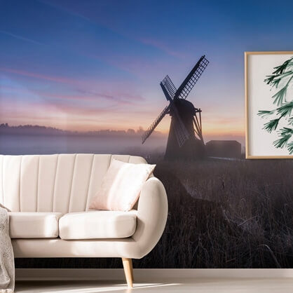 windmill photo wallpaper by Ollie Taylor