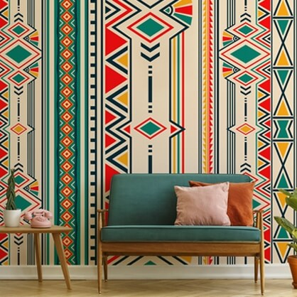 tribal pattern wallpaper